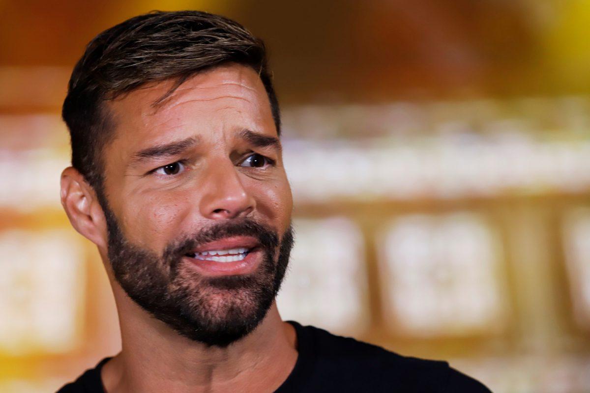 Ricky Martin procuró en la pandemia que sus hijos no sintieran su ansiedad
