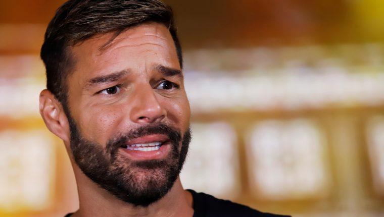 Ricky Martin ansiedad