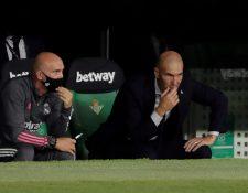 Zidane debe preparar un plantel con un buen número de bajas ante el Levante. (Foto Prensa Libre: EFE)