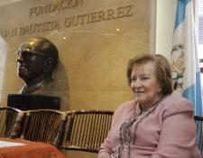 Isabel Gutiérrez de Bosch era la presidenta de la Fundación Juan Bautista Gutiérrez. (Foto: Hemeroteca PL)