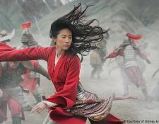 """La actriz Liu Yifei en la película """"Mulan"""""""