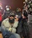"""Alias """"el Lobo"""" fue trasladado bajo fuertes medidas de seguridad. (Foto: Sistema Penitenciario)"""