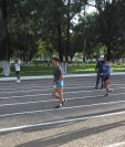 El equipo nacional de marcha, dirigido por el entrenador Julio Urías inició el trabajo hace cinco semanas. Foto Prensa Libre: Norvin Mendoza