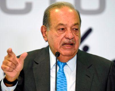 Carlos Slim, el empresario más rico de México, tiene covid-19 desde hace ocho días