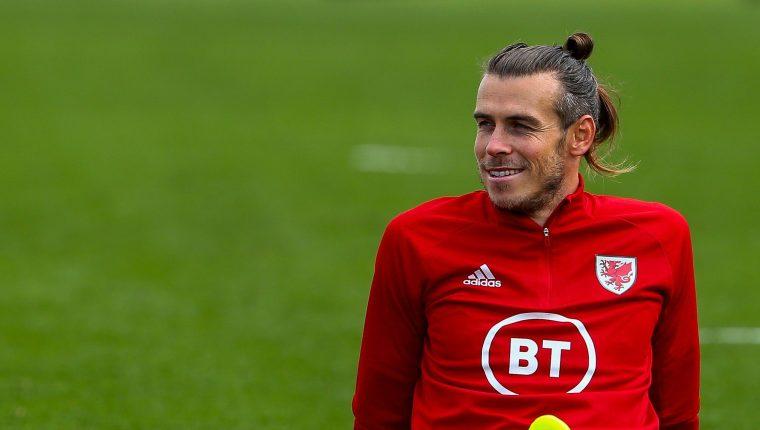 Gareth Bale dejó la Selección de Gales y está de vuelta con el Real Madrid. (Foto Prensa Libre: AFP)