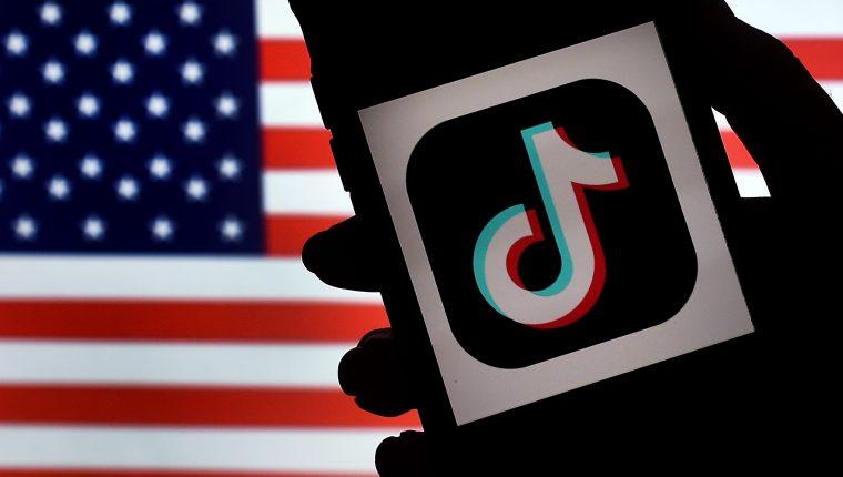 Usuarios en EE.  UU.  no podrá descargar o actualizar la aplicación móvil TikTok a partir del domingo.  (Foto Prensa Libre: AFP)