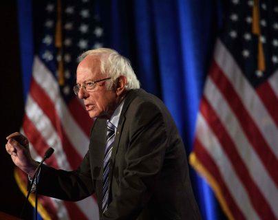 Senador Bernie Sanders en una fotografía de Archivo. (Foto Prensa Libre: AFP)