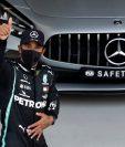 Lewis Hamilton dominó de nuevo la clasificación, la número 96 en su carrera. (Foto Prensa Libre: AFP).
