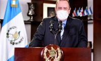 El presidente de Guatemala, Alejandro Giammattei anunció que no pedirá prórroga del estado de Calamidad.