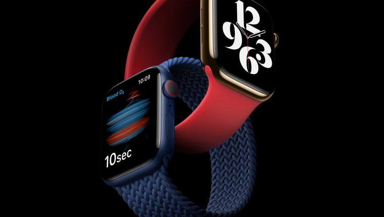 La principal novedad del Apple Watch Series 6 es el sensor SpO2, también conocido como pulsioxímetro. (Foto Prensa Libre: EFE).