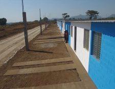 Con recursos recolectados por Asociación Primaveral fue posible la construcción de 35 viviendas para los afectados por la erupción del Volcán de Fuego, en Cañadas de Guatelinda, Escuintla. La entrega se efectuó en enero del 2019. (Foto: Cortesía)