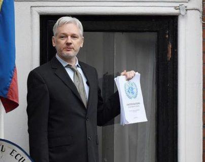 El fundador de Wikileaks fue detenido en abril de 2019 después de pasar siete años en la embajada de Ecuador en Londres. (Foto Prensa Libre: EFE)