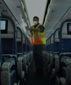 Medidas preventivas para evitar el coronavirus mientras viajas en avión