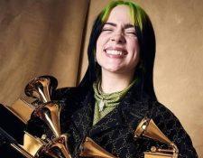 Entrevistas y vídeos de Billie Eilish estarán disponibles en el Museo del Grammy. (Foto Prensa Libre: Facebook @billieeilish).