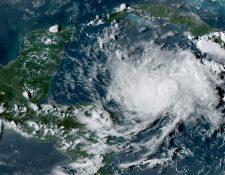 Trayectoria de la tormenta tropical Nana. (Foto Prensa Libre: AFP)