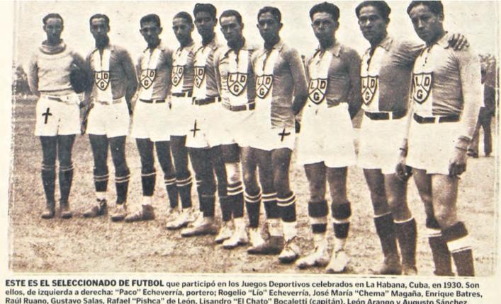 Selección Guatemala 1930