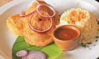 Los chiles rellenos los puede hacer de pollo o de carne.  Foto Prensa Libre Hemeroteca