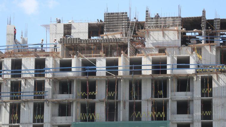 El sector de la construcción considera que este año no crecerá, aunque tiene expectativas de mejorar durante el resto del año. (Foto, Prensa Libre: Hemeroteca PL).