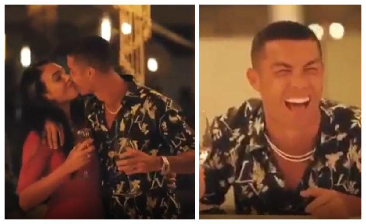 El lado más romántico y divertido de Cristiano Ronaldo junto a Georgina Rodríguez en una fiesta especial