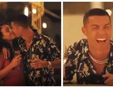 Cristiano Ronaldo disfrutó de una fiesta inigualable junto a Georgina Rodríguez y su familia. (Foto Prensa Libre: Captura video Instagram de Cristiano Ronaldo)