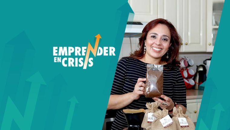 El gusto por el buen café orientó a Carmen Flores a vender grano con calidad de exportación. Con ese propósito creó Café Kaldi. (Foto Prensa Libre: Esbin García)