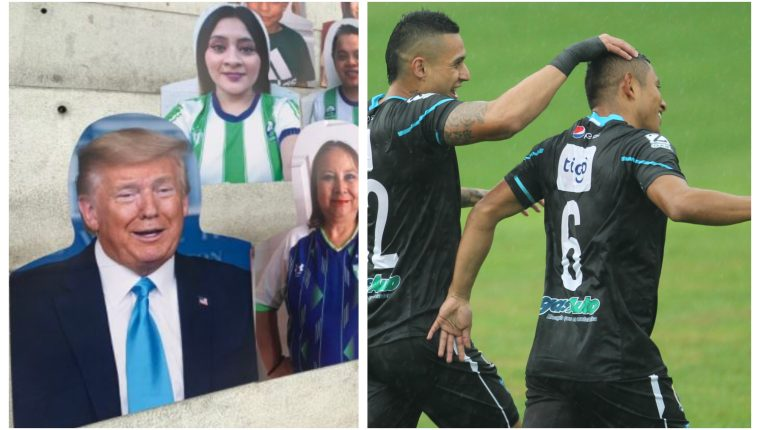La segunda jornada del futbol nacional fue una fiesta. (Foto Prensa Libre: Antigua GFC y Norvin Mendoza)