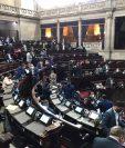 Diputados han relegado la elección de cortes durante las sesiones plenarias. (Foto Prensa Libre: José Castro)