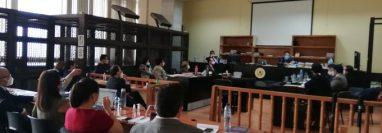 El juez de Mayor Riesgo B, Miguel Ángel Gálvez, liga a proceso penal a 11 implicados en el caso de corrupción la Línea Consolidadores. (Foto: Edwin Pitán)