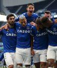 El Everton se impuso de visita al Tottenham de José Mourinho. Foto Prensa Libre: EFE
