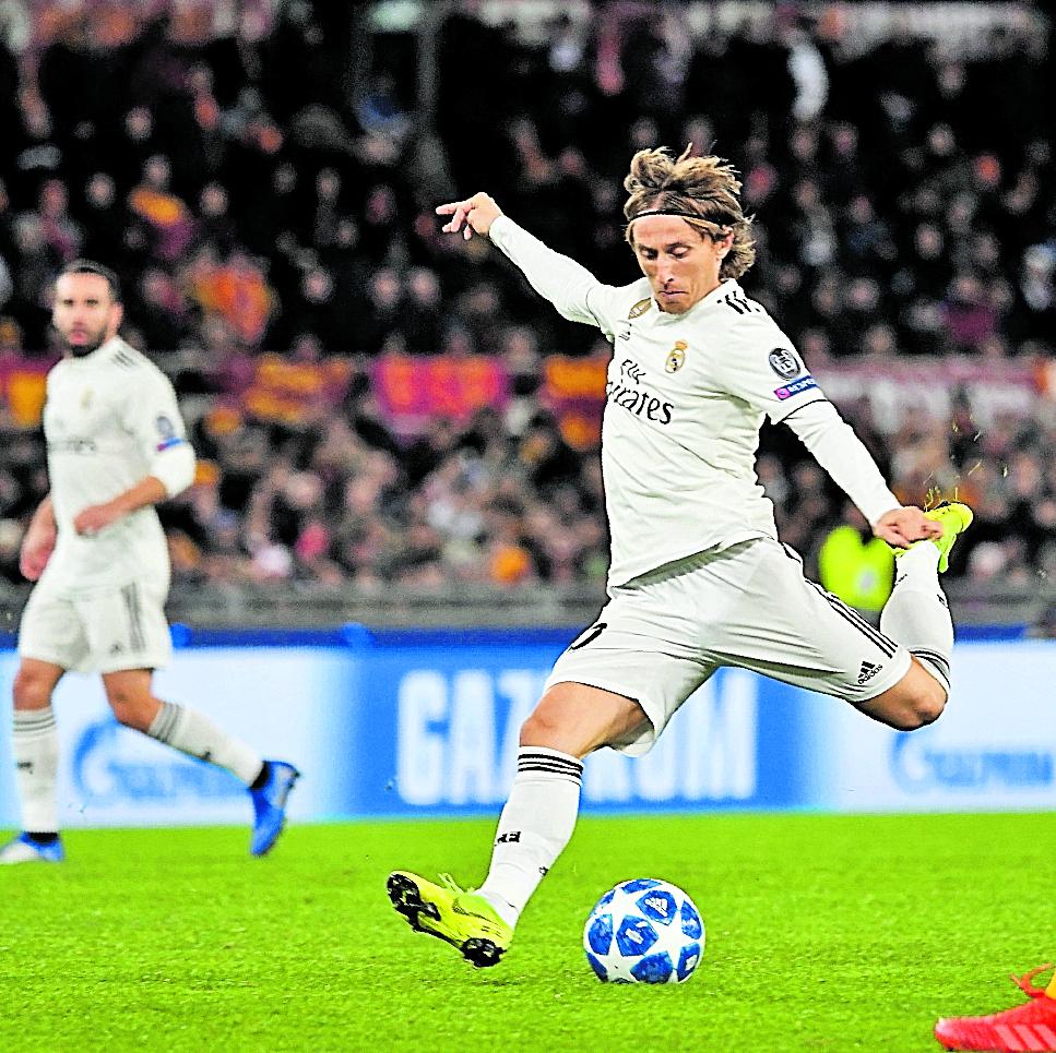 Modric desea terminar su carrera en el Real Madrid
