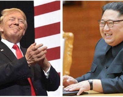 Donald Trump y Kim Jong-un- (Foto Prensa Libre: Hemeroteca PL)