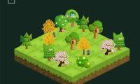 """os árboles de la aplicación """"Forest"""" mueren si se mira antes de tiempo la pantalla del teléfono móvil. Foto: SEEKRTECH CO., LTD/DPA"""