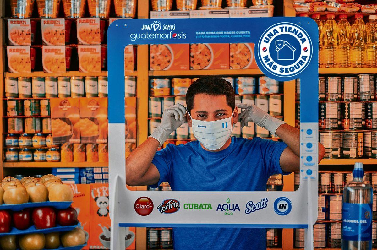 """""""Una Tienda Más Segura"""": grandes empresas buscan prevenir el contagio de covid-19"""