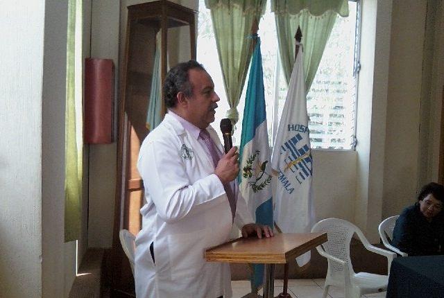 Traumatólogo Héctor Barrios