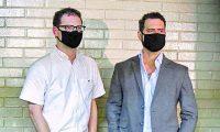 Luis Enrique Martinelli y Ricardo Martinelli Jr. se encuentran detenidos en Guatemala con fines de extradición a Estados Unidos por supuesto lavado de dinero vinculado a Odebrecht. (Foto Prensa Libre: AFP)