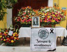 Ruby Siquiná fue encontrada en su apartamento sin vida y con señales de violencia. (Foto Prensa Libre: cortesía Municipalidad de Salcajá)