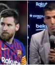 Luis Suárez se despidió de los seguidores del Barcelona en una emotiva conferencia de prensa. (Foto HemerotecaPL)