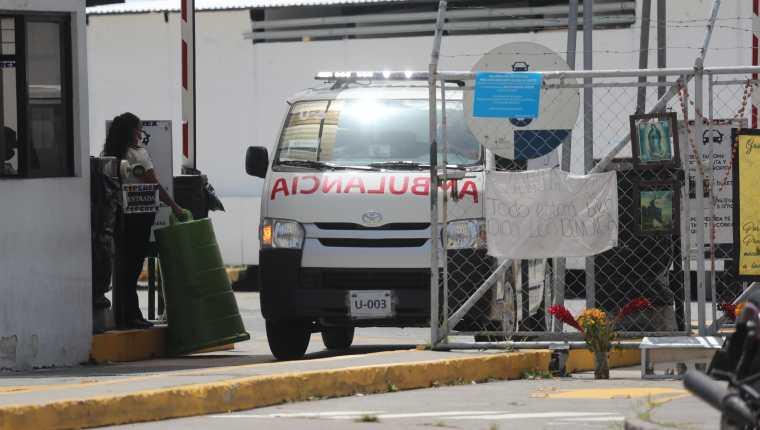 El Hospital Temporal del Parque de la Industria se habilitó para atención de pacientes con coronavirus. (Foto Prensa Libre: Hemeroteca PL)