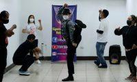 Ex miembros de La 33, La Five y Plaza Vivar, participan en  Covid Dance  2020.  Los integrantes mostraron sus destrezas en el baile disco de los a–os 80.       Fotograf'a  Esbin Garcia 04- 08-2020