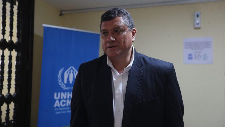 Guillermo Castillo, vicepresidente de la República. (Foto Prensa Libre: Hemeroteca PL)