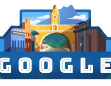 Uno de los doodles que ha conmemorado el Día de la Independencia de Guatemala. (Foto Prensa Libre: Google)