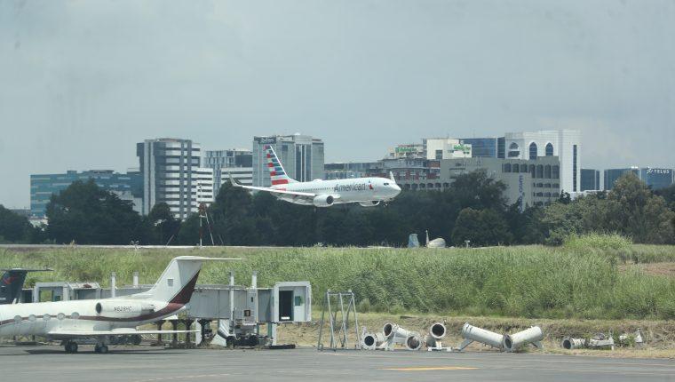 El Aeropuerto Internacional La Aurora reabrió el 18 de septiembre luego de seis meses de cierre para evitar propagación del covid-19. (Foto, Prensa Libre: Hemeroteca PL).