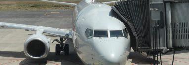 Aeropuerto internacional La Aurora recibe el segundo vuelo internacional luego de 6 meses de inactividad por la pandemia del coronavirus.  Fotograf'a. Erick Avila:        18092020