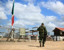 La aduana Ingenieros está a 25 kilómetros de la Franja Transversal del Norte, y es un acceso para Honduras, El Salvador, Guatemala. (Foto Prensa Libre: Hemeroteca PL)