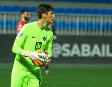 Nicholas Hagen está en una etapa de aprendizaje en Azerbaiyán. Foto Prensa Libre: Sabail FC