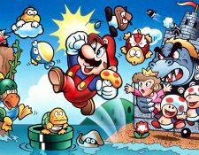 Los 35 años de Mario trae sorpresas para los seguidores de este pesonaje y sus amigos.  (Foto Prensa Libre: Nintendo).