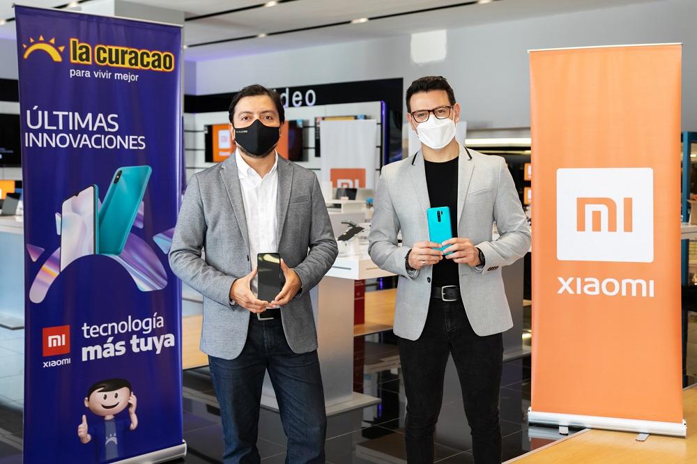 La Curacao presentó la nueva gama de smartphone Xiaomi