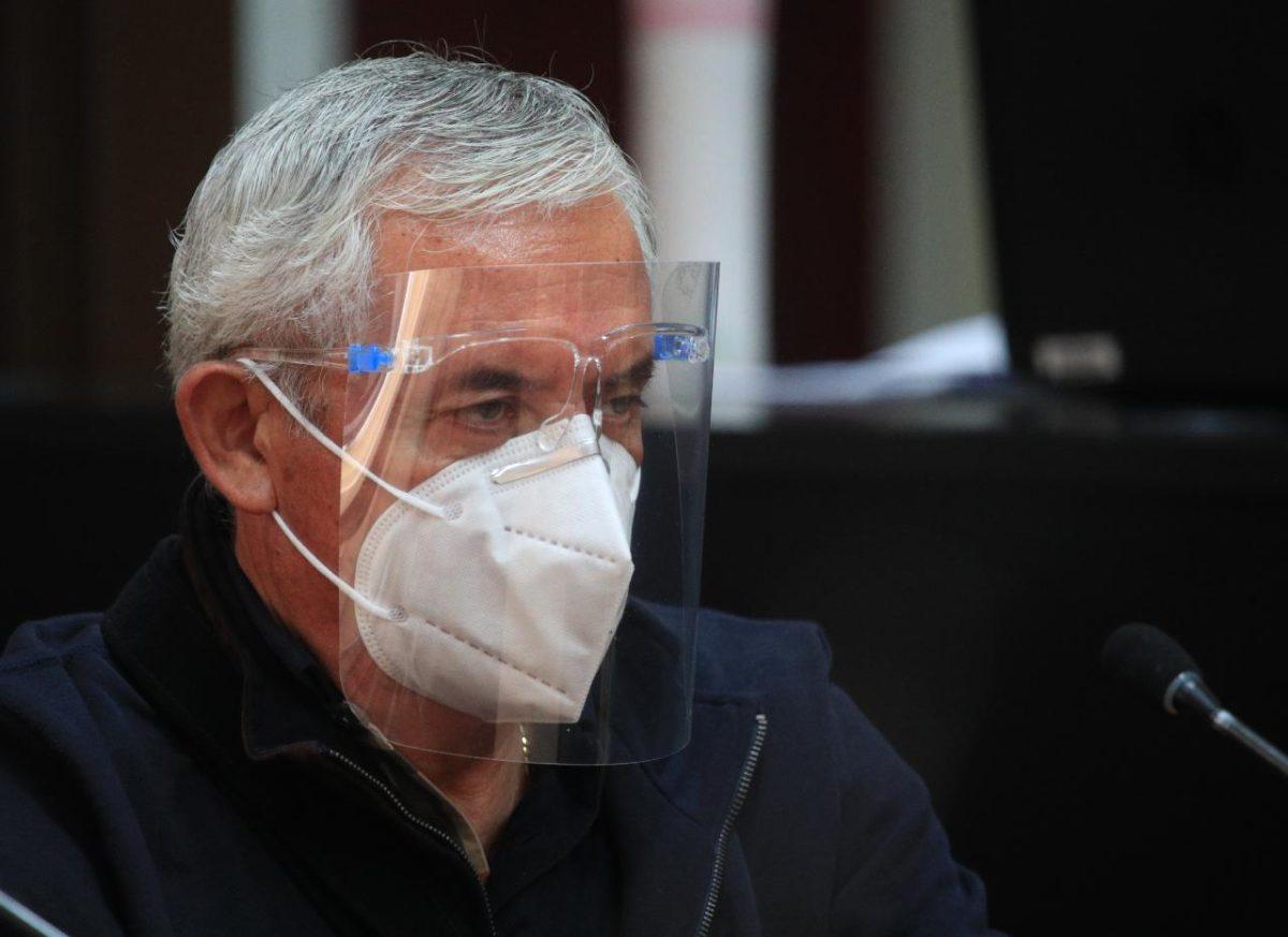 Otto Pérez Molina pide volver a la cárcel Mariscal Zavala por riesgo de contagio de coronavirus en hospital militar