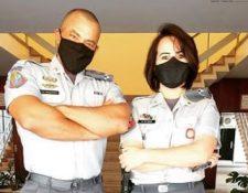 La acción del agente fue reconocida por la Policía Militar que, incluso le rindió un homenaje. (Foto Prensa Libre: Tomada del Blog de la Policía Militar de Sao Paulo)