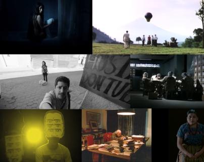 Fotogramas de películas realizadas en el país. (Foto Prensa Libre: Internet)